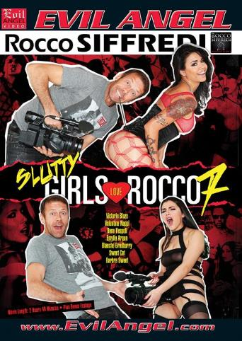 Slutty Girls Love Rocco 7 from Evil Angel: Rocco Siffredi front cover