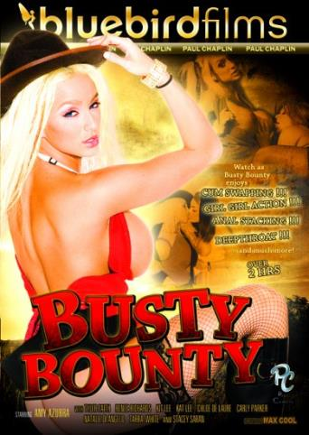 Busty Bounty from Bluebird Films front cover
