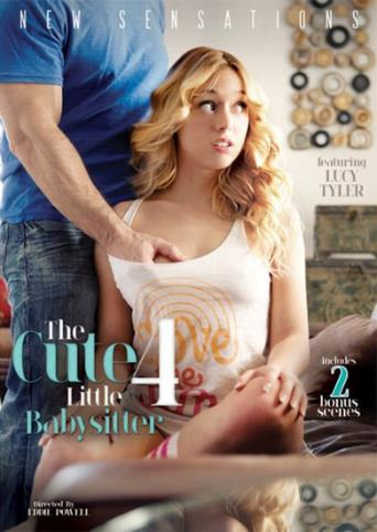 The Cute Little Babysitter 4 from New Sensations front cover