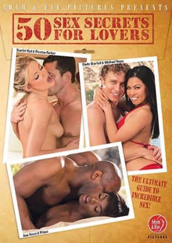50 Sex Secrets For Lovers from Adam & Eve front cover