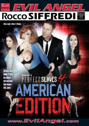 Rocco's Perfect Slaves 4 American Edition from Evil Angel: Rocco Siffredi front cover