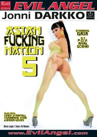 Asian Fucking Nation 5 from Evil Angel: Jonni Darkko front cover