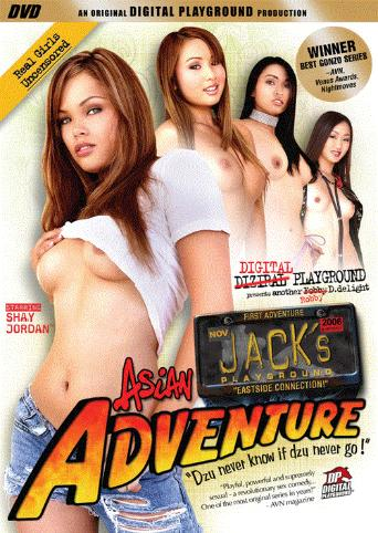 Jack's Asian Adventure from Digital Playground front cover