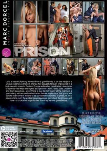 Prison from Marc Dorcel back cover