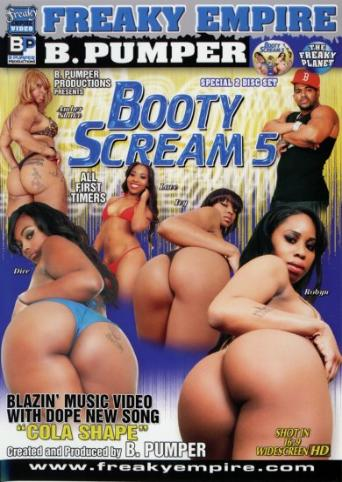 Booty Scream 5 from Freaky Empire front cover