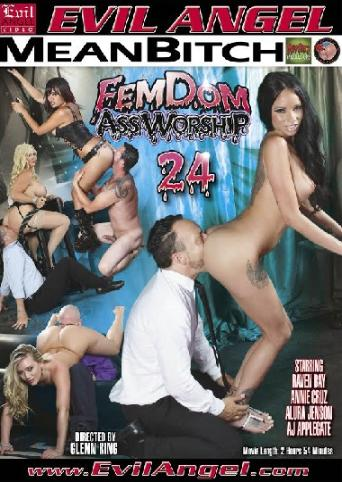 Femdom Assworship 24 from Evil Angel front cover