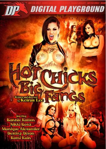 Hot Chicks Big Fangs from Digital Playground front cover