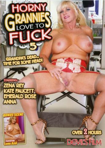 Horny Grannies Love To Fuck 5 from Devil's Film front cover