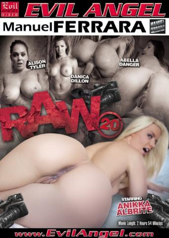 Raw 20 from Evil Angel: Manuel Ferrara front cover