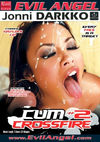 Cum Crossfire 2 from Evil Angel: Jonni Darkko front cover