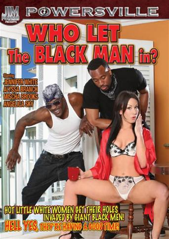 Who Let The Black Man In from Powersville front cover