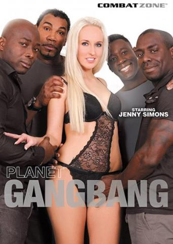 Planet Gangbang from Combat Zone front cover