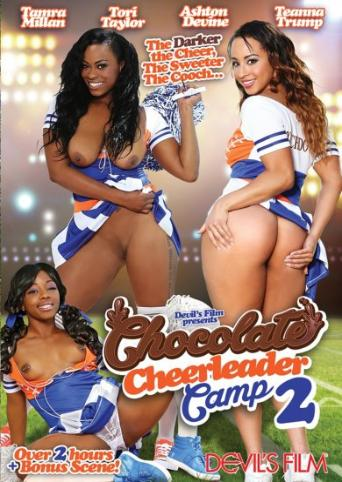 Chocolate Cheerleader Camp 2 from Devil's Film front cover