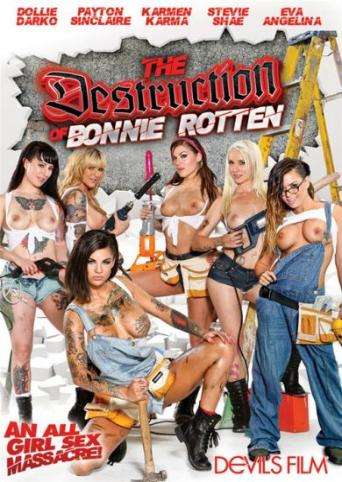The Destruction Of Bonnie Rotten from Devil's Film front cover
