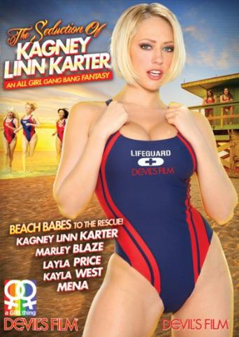 The Seduction Of Kagney Linn Karter from Devil's Film front cover