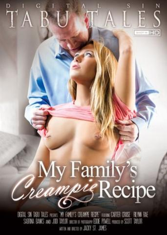 My Family's Creampie Recipe from Digital Sin front cover