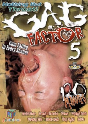 Gag Factor 5 from JM Productions front cover