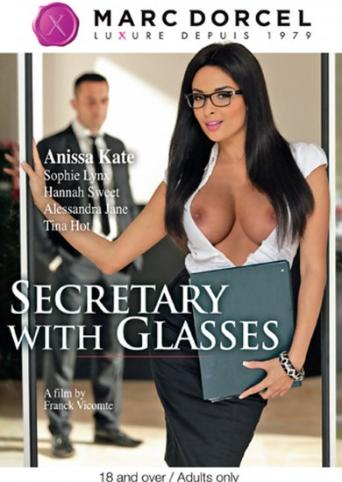Secretary With Glasses from Marc Dorcel front cover