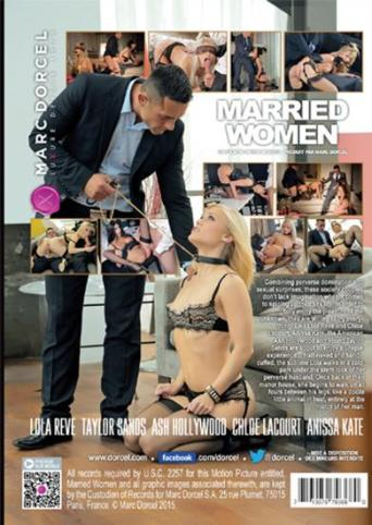 Married Women from Marc Dorcel back cover