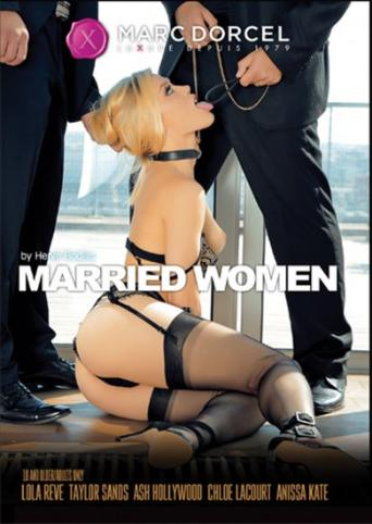 Married Women from Marc Dorcel front cover