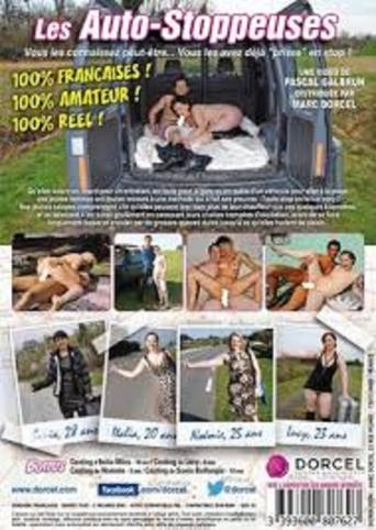 Les Auto-Stoppeuses from Marc Dorcel back cover