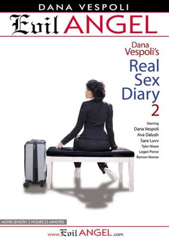 Dana Vespoli's Real Sex Diary 2 from Evil Angel front cover