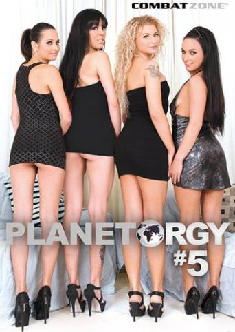 Planet Orgy 5 from Combat Zone front cover
