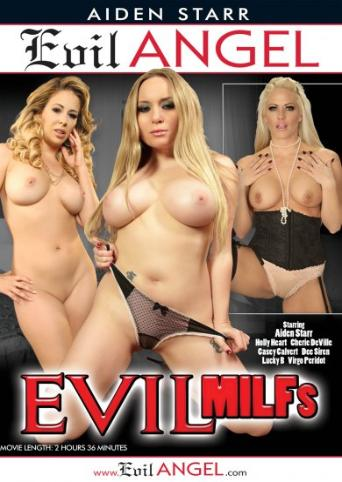 Evil MILFs from Evil Angel front cover