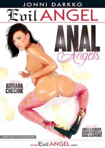 Anal Angels from Evil Angel: Jonni Darkko front cover
