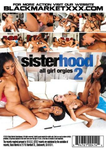 Sisterhood All Girl Orgies 2 from Black Market back cover