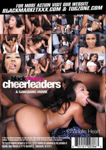 Black Cherry Cheerleaders from Black Market back cover