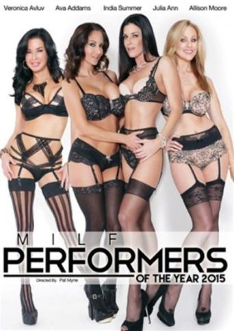 MILF Performers Of The Year 2015 from Elegant Angel front cover