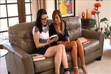 Lesbian Librarians Scene 1
