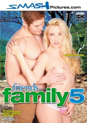 Friends And Family 5 from Smash Pictures front cover