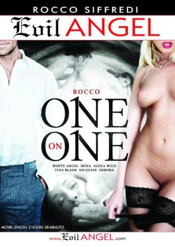 Rocco One On One from Evil Angel: Rocco Siffredi front cover