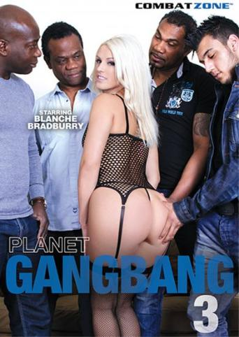 Planet Gangbang 3 from Combat Zone front cover