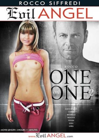 Rocco One On One 2 from Evil Angel: Rocco Siffredi front cover