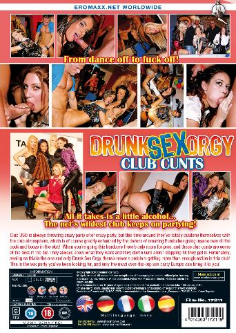 Drunk Sex Orgy Club Cunts from DrunkSexOrgy back cover