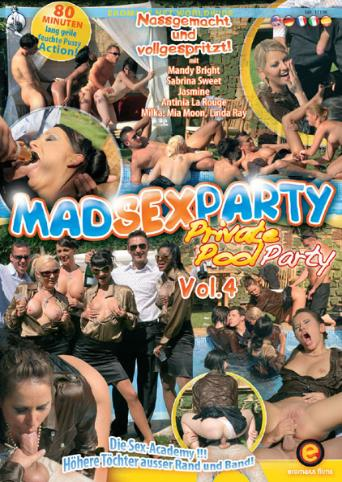Private Pool Party 4 from MadSexParty front cover