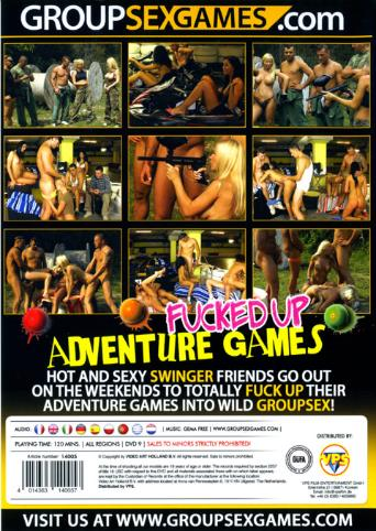 Fucked Up Adventure Games from Group Sex Games back cover
