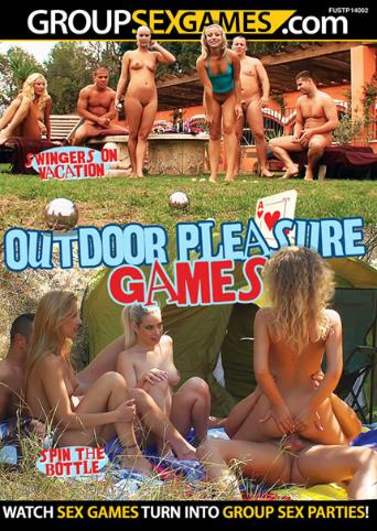 Outdoor Pleasure Games from Group Sex Games front cover