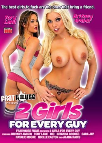2 Girls For Every Guy from Frathouse Films front cover