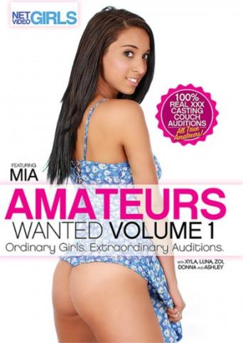 Amateurs Wanted from Net Video Girls front cover
