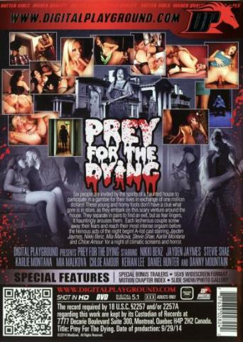 Prey For The Dying from Digital Playground back cover