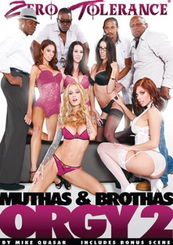 Muthas And Brothas Orgy 2 from Zero Tolerance front cover