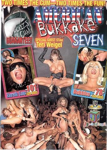American Bukkake Seven from JM Productions front cover