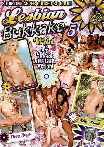 Lesbian Bukkake 5 from JM Productions front cover