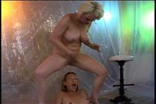 Lesbian Bukkake 5
