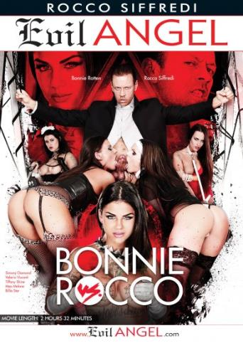 Bonnie vs. Rocco from Evil Angel: Rocco Siffredi front cover