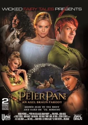 Peter Pan XXX from Wicked front cover